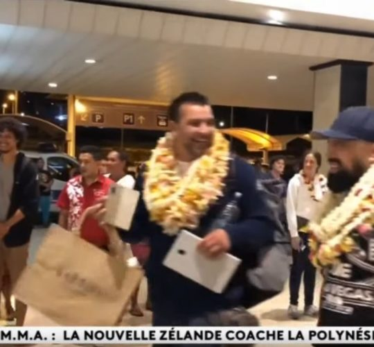 Le gratin du MMA à Tahiti