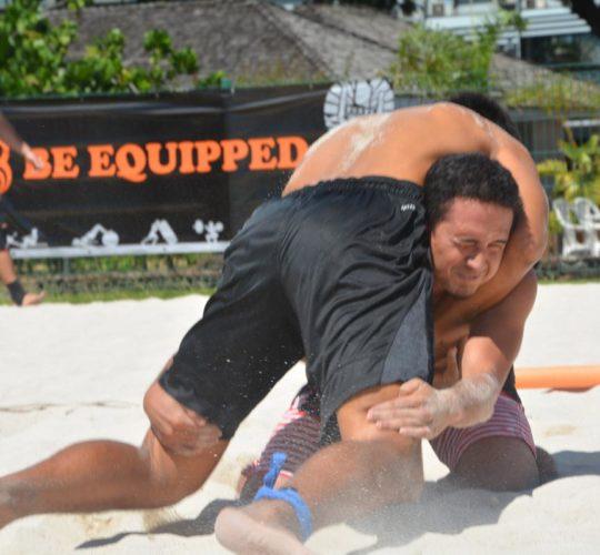 Beach Wrestling